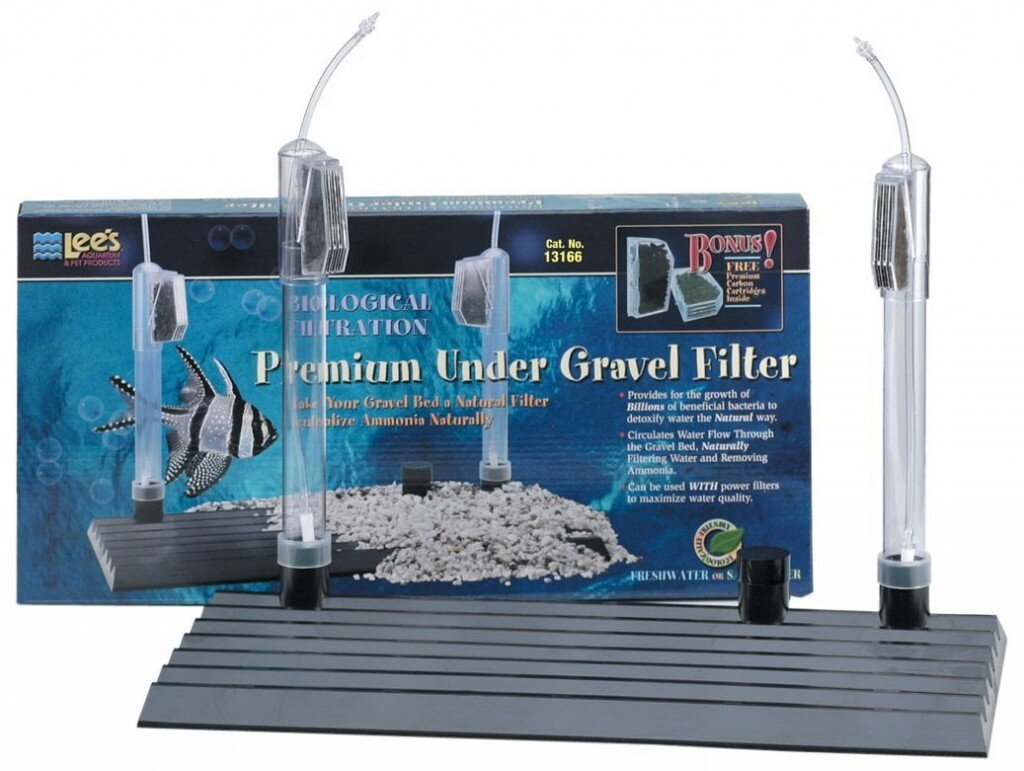 Types of aquarium filters